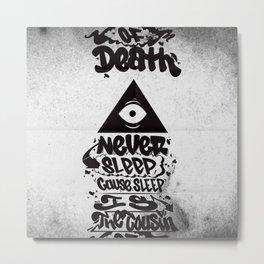 Nas  Metal Print