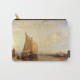 """J.M.W. Turner """"The Dort Packet-Boat from Rotterdam Becalmed"""" Carry-All Pouch"""