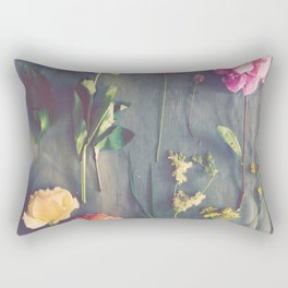 Flower Study Rectangular Pillow
