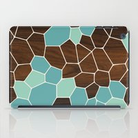 geode iPad Cases featuring Geode in Blue by jefdesigns