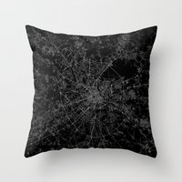 moscow Throw Pillows featuring Moscow by Line Line Lines