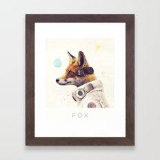 Star Team - Fox Framed Art Print