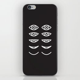 Eyes in Motion iPhone Skin