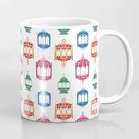 islam Mugs featuring Fanous by haidishabrina