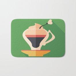 Cup of Latte Bath Mat
