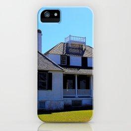 Kingsley Plantation House iPhone Case