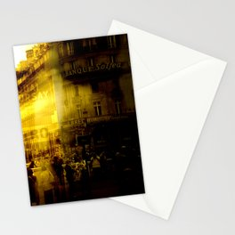 1st arrondissement-yellow Stationery Cards