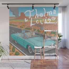 Thelma And Louise Wall Mural