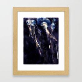 Drifting Jellyfish Framed Art Print