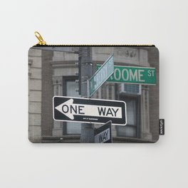 Between Mulberry and Broome Streets - NYC Carry-All Pouch