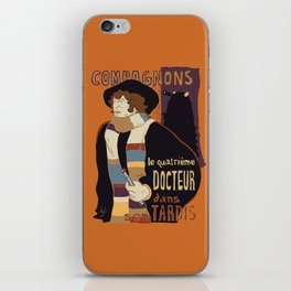 Le Fourth Doctor iPhone Skin