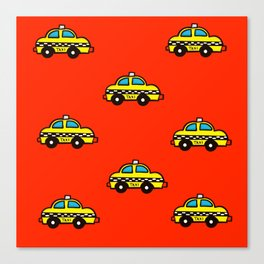 NYC Taxi Cabs Canvas Print
