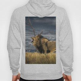 Roaring African Lion Hoody