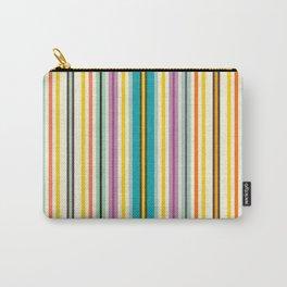 retro stripe Carry-All Pouch