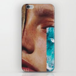 "Collage ""CRY ME A RIVER"" iPhone Skin"