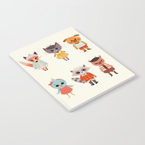 Animal Fashion Notebook