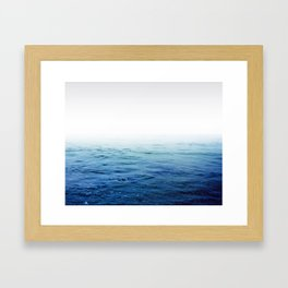 Calm Blue Ocean Framed Art Print