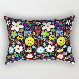 PMO colorful collage Rectangular Pillow
