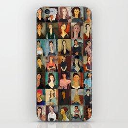 Amadeo Modigliani Montage iPhone Skin