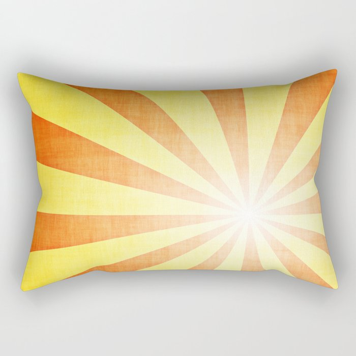 Retro Art Rectangular Pillow