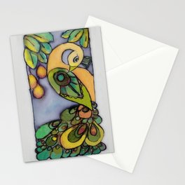 Mango Peacock Stationery Cards