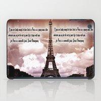hemingway iPad Cases featuring Ernest Hemingway by Dan99