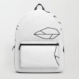 Cubist Rose Backpack