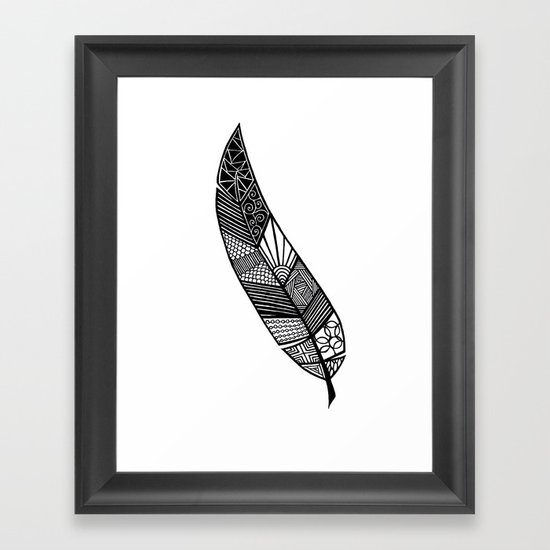 Feather 2 Framed Art Print