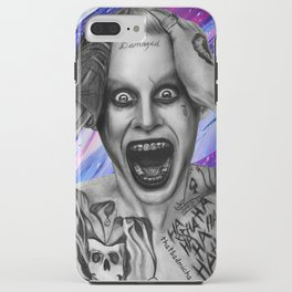 SUICIDE SQUAD's Joker Drawing iPhone Case