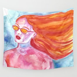 California Girl Wall Tapestry