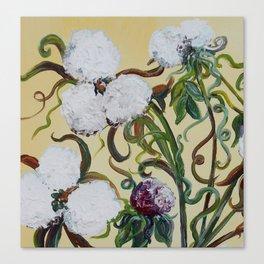 Cotton Squared Canvas Print