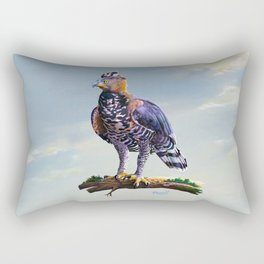 African crowned eagle  Rectangular Pillow