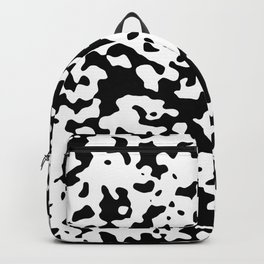 Spots - White and Black Backpack