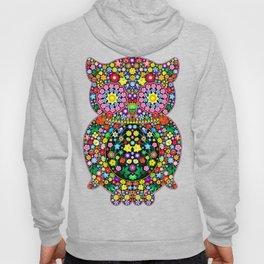 Owl Zentangle Floral   Hoody