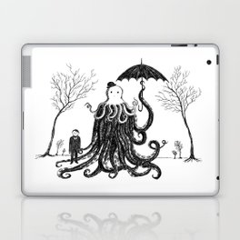 Young Master Lovecraft Finds A Friend Laptop & iPad Skin