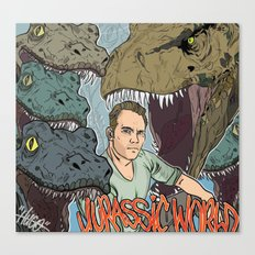 Jurassic Pratt Canvas Print