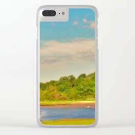 Picture Postcard Perfect Clear iPhone Case