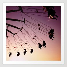 Summer Swings Art Print
