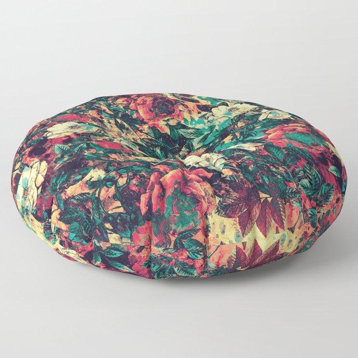RPE FLORAL V Floor Pillow