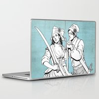 pirates Laptop & iPad Skins featuring Pirates by Tom Tierney Studios
