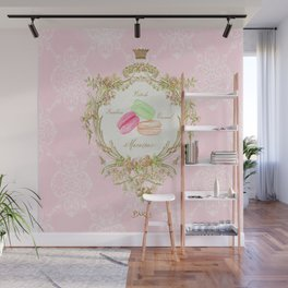 French Patisserie Macarons Wall Mural