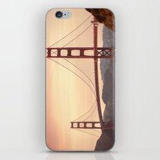 Golden Gate Bridge (San Francisco, CA) iPhone & iPod Skin