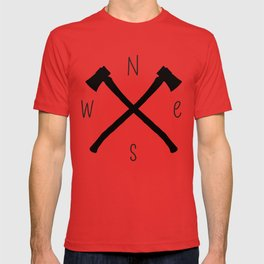 compass & axes T-shirt