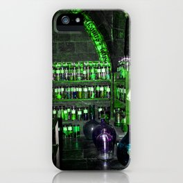 Potion Class - Green Hues iPhone Case