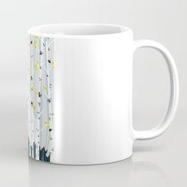 bird in birch Coffee Mug