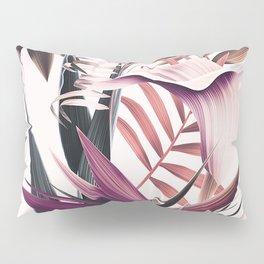 Magenta tropical Pillow Sham