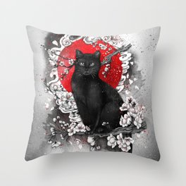 I'm a Cat Throw Pillow