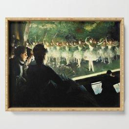The White Ballet - Everett Shinn Serving Tray