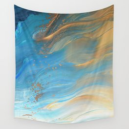 Fairy Wings: Acrylic Pour Painting Wall Tapestry