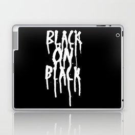 Black on black Laptop & iPad Skin